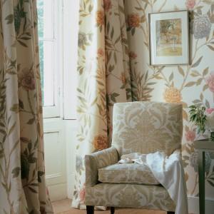 Tapeta China Rose w stylu vintage. Fot. Lewis&Wood.