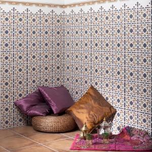 Kolekcja płytek ceramicznych Al-Andalus marki Cerlat mieści w sobie wszystkie kolory Maroka Fot. Cerlat.