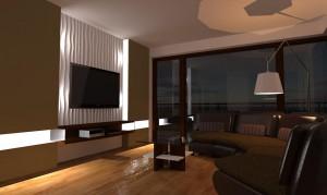 Projekt salonu.
