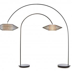 Nowoczesna lampa Kai Arc. Fot. Hive.