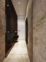 Projekt wnętrz domu pod Warszawą - łazienka.