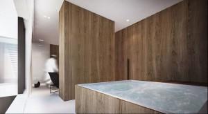 Projekt Kompleksu Mieszkalnego /  Jeddah (SA) - łazienka