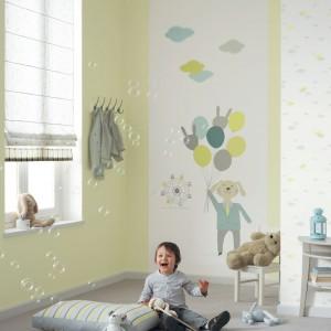 Propozycja do pokoju małego chłopca od marki Casadeco. Fot. Casadeco.