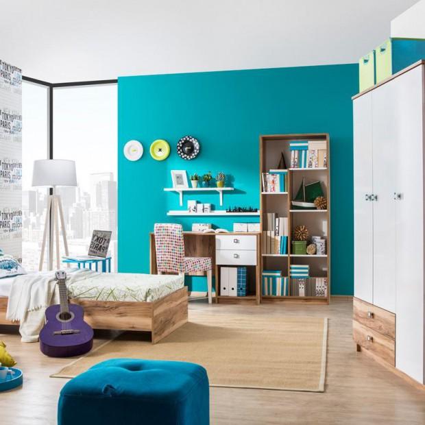 Niebieski pokój dziecka. 15 pomysłów na wnętrze w uniwersalnym kolorze
