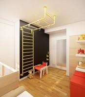 Farba tablicowa - pokój dziecięcy.