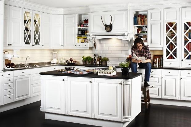 Biała kuchnia. 15 najciekawszych aranżacji w klasycznym stylu
