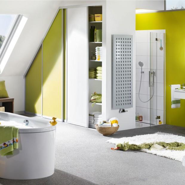 Łazienka dla dziecka: kolorowa, bezpieczna i wygodna