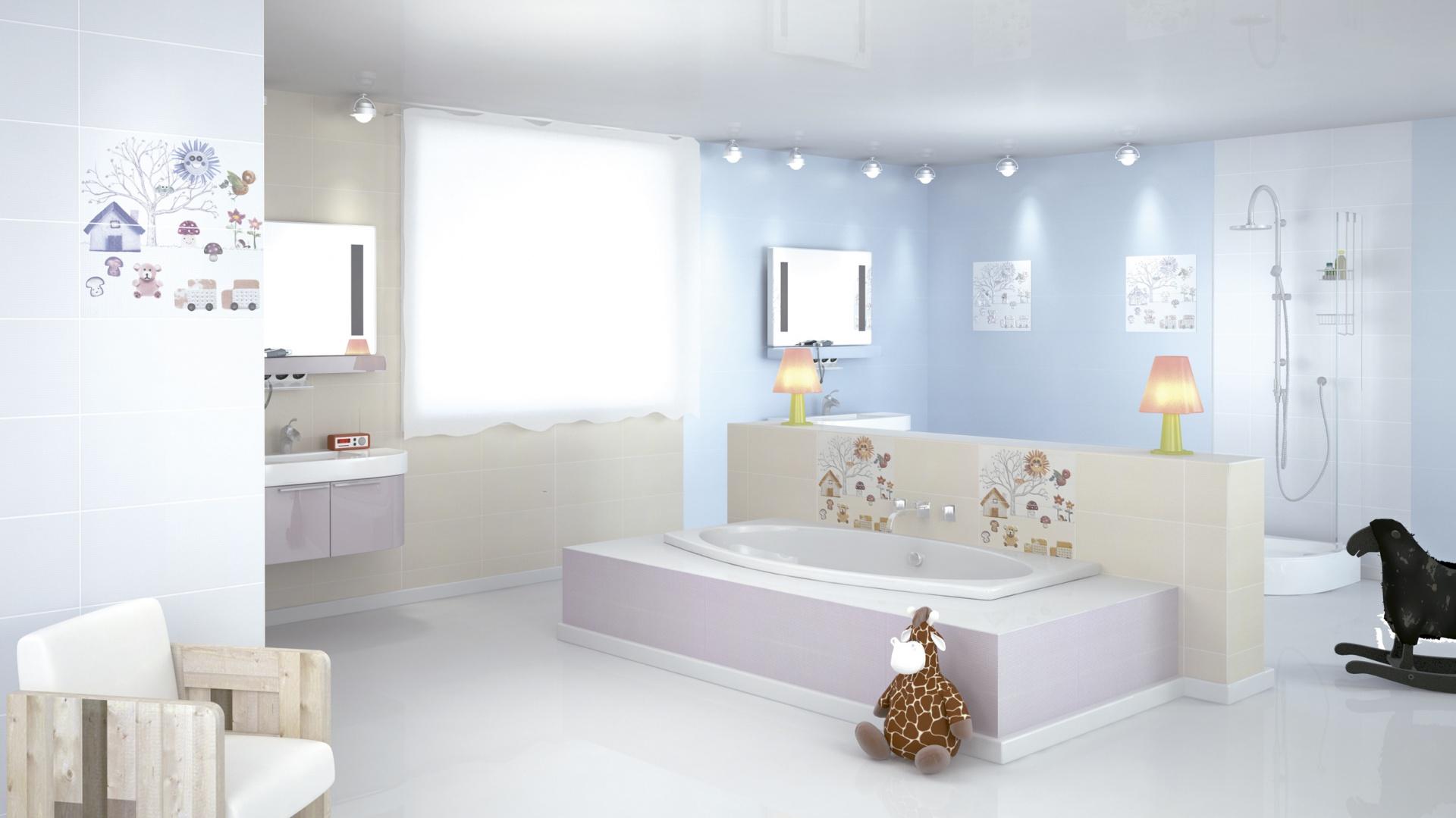 łazienka Dla Dziecka Kolorowa Bezpieczna I Wygodna