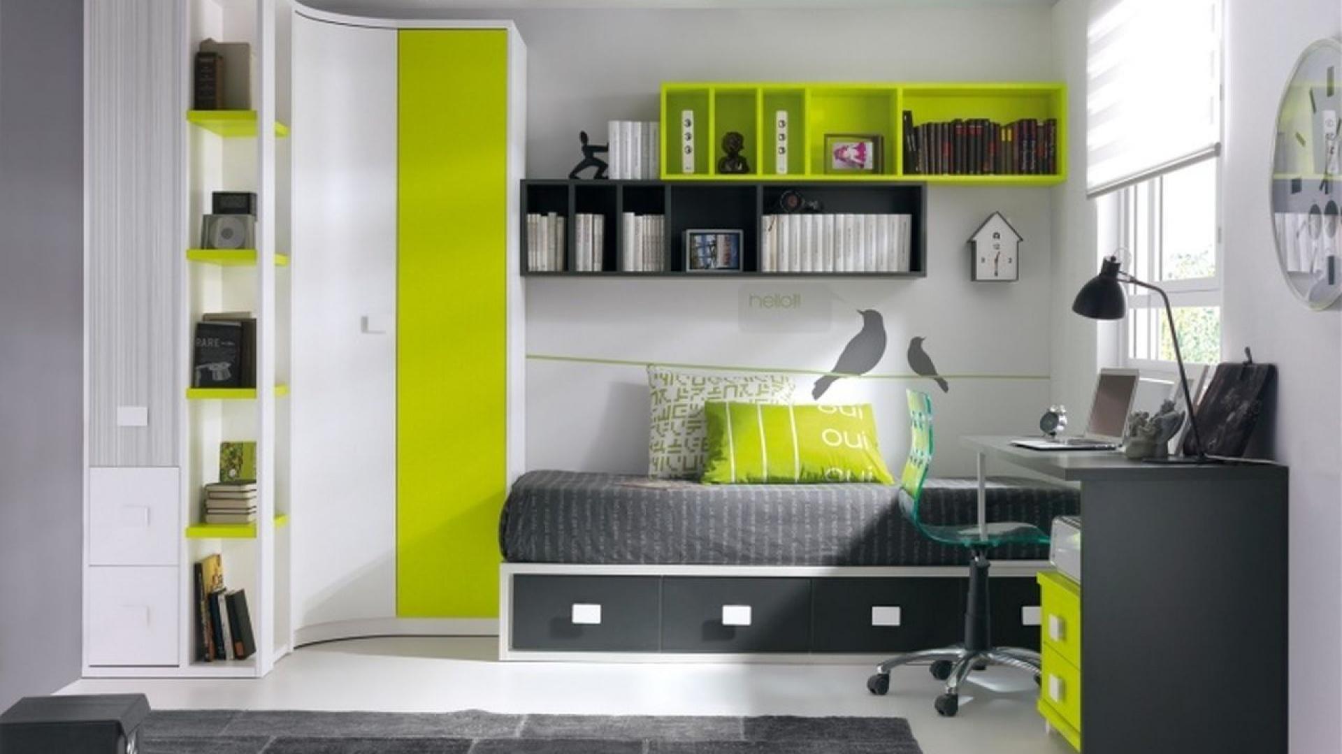 Pokój Dziecka W Zielonym Kolorze Idealny Do Odpoczynku I Zabawy