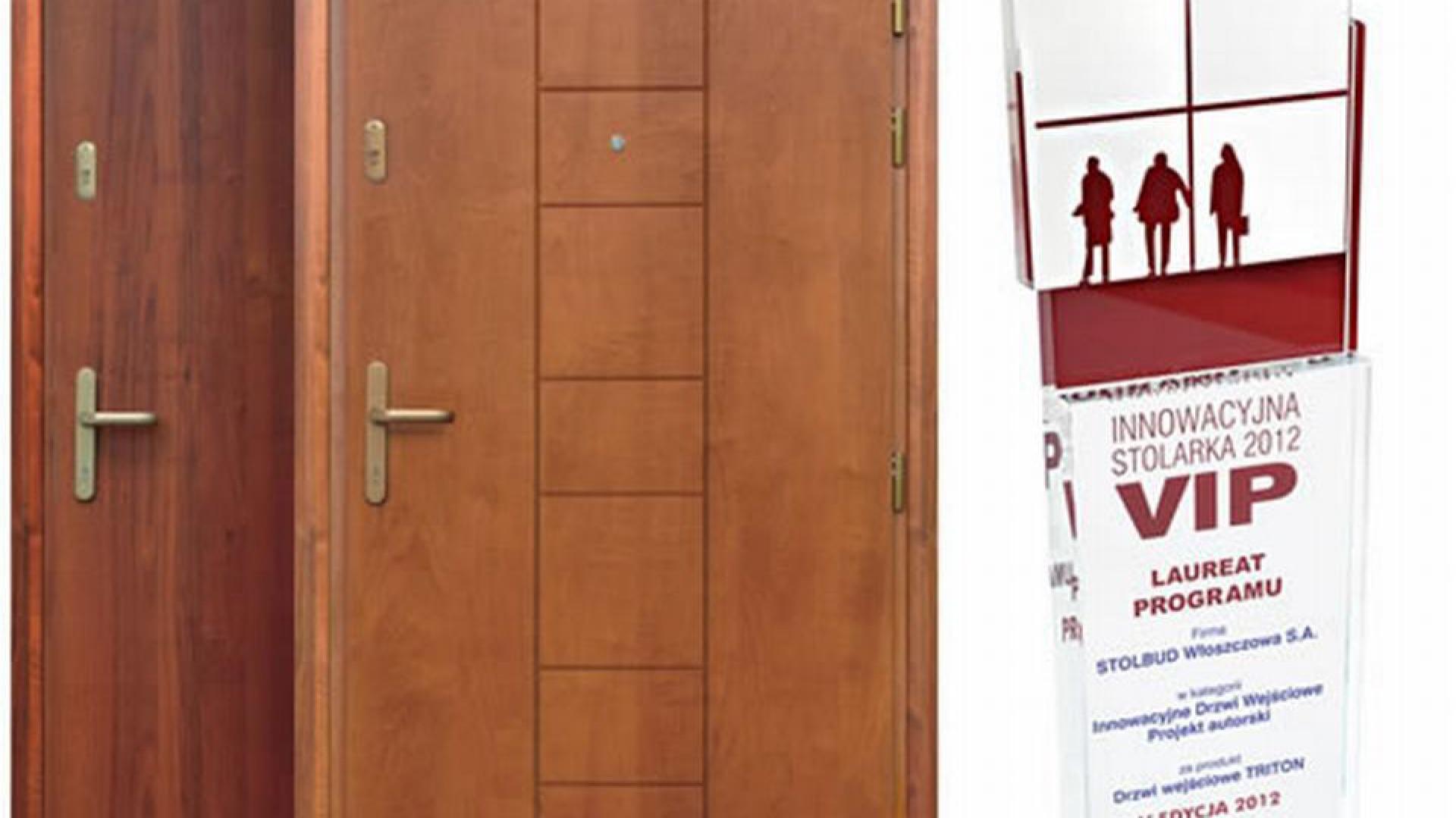 Fot. 4 Drzwi Stolbudu Włoszczowa seria Triton oferowane przez BCMB (Białystok, Wschodni Klaster Budowlany).jpg