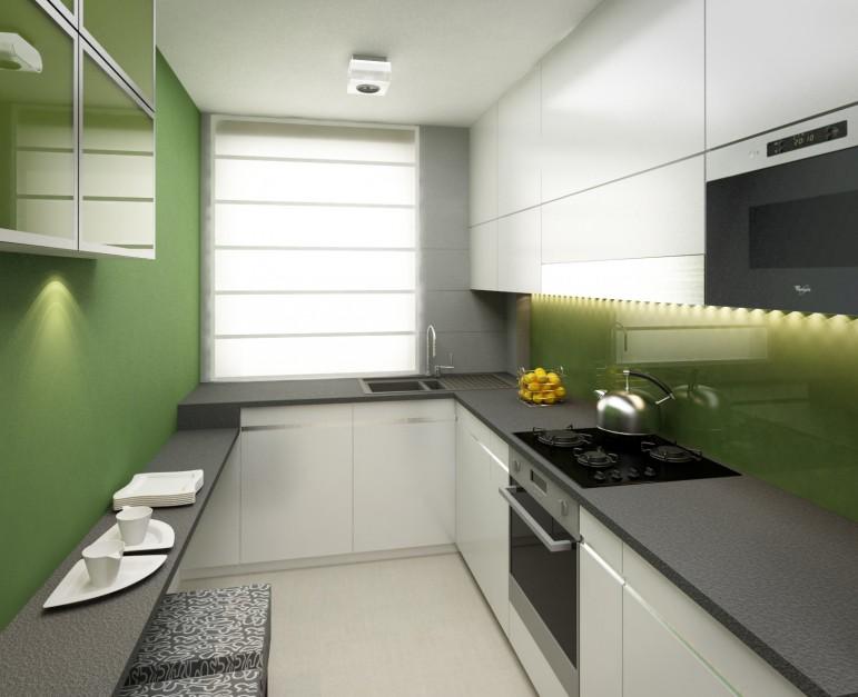 Realizacja Architekta Z Lasem W Tle Kuchnia