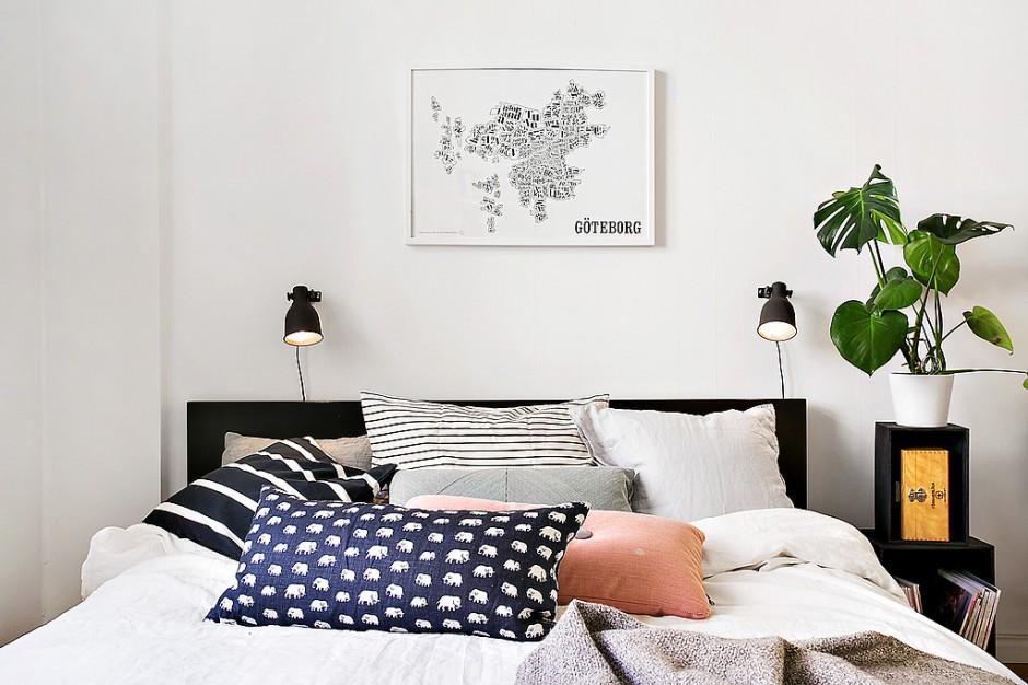 Sypialnię urządzoną w...  Nowoczesna sypialnia. Ciekawe pomysły na oświetlenie  Strona: 9