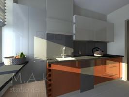 Kuchnie lakierowane dają ogromne możliwości kolorystycznego kształtowania wnętrza. Jesteśmy wstanie wybarwić front w każdym wybranym przez Państwa kolorze i odcieniu .