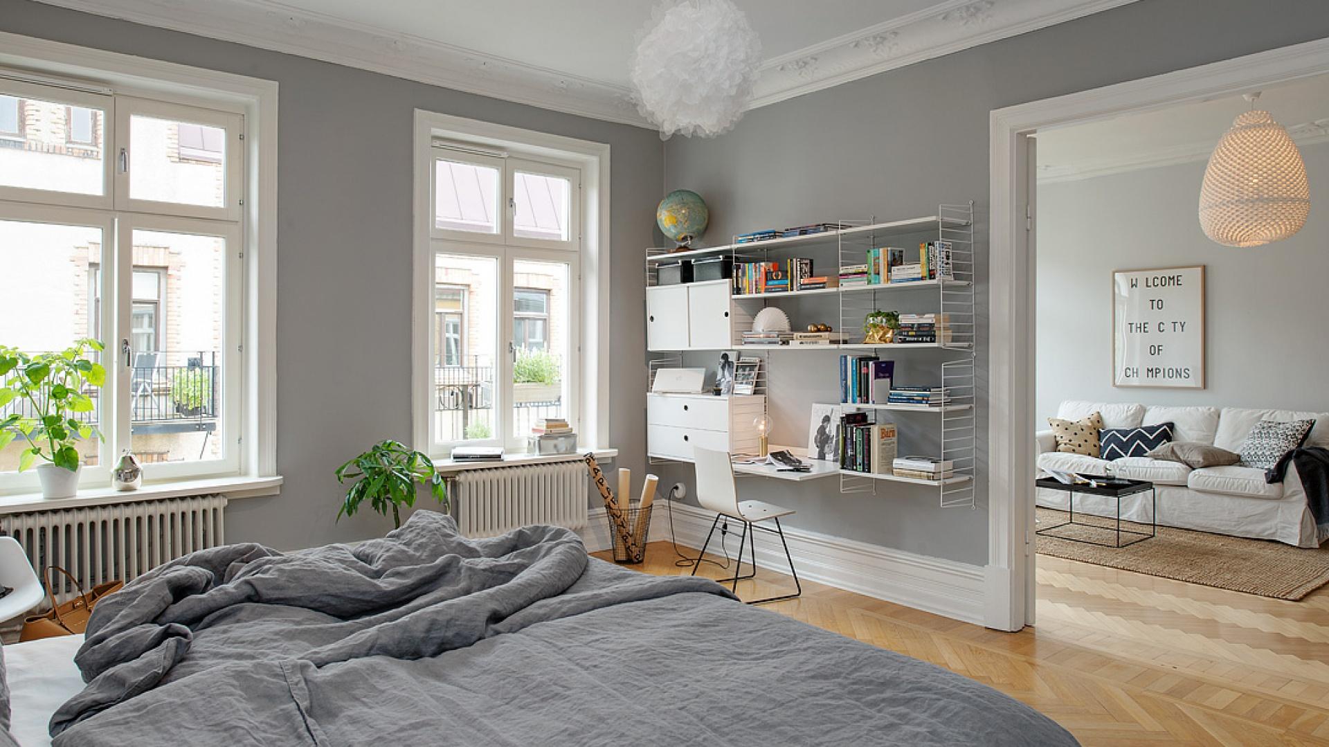 Miejsce Do Pracy W Sypialni Zobacz Pomysły Na Aranażację