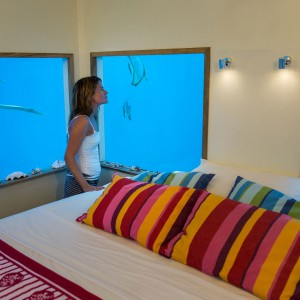 Fot. Underwater Room, Manta Resort, Tanzania.