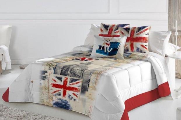 Tkaniny w sypialni: wybieramy narzutę na łóżko