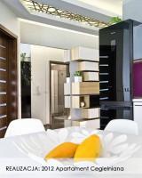 Apartament Cegielniana - kuchnia.