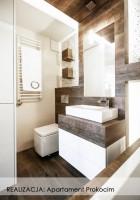 Apartament Prokocim - łazienka.