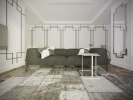 Mieszkanie Gdynia 004 - Salon.