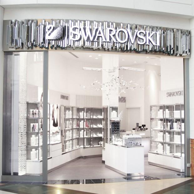ARS Retail+Shopfitting zaaranżował nowy salon Swarovskiego