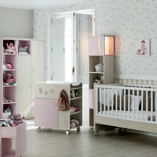 Śliczne pokoje niemowlęce. Zobaczcie propozycje dla dziewczynek