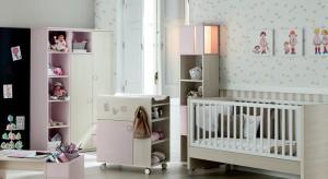 Prezentujemy pomysłowe pokoje niemowlęce dedykowane najmniejszym dziewczynkom.