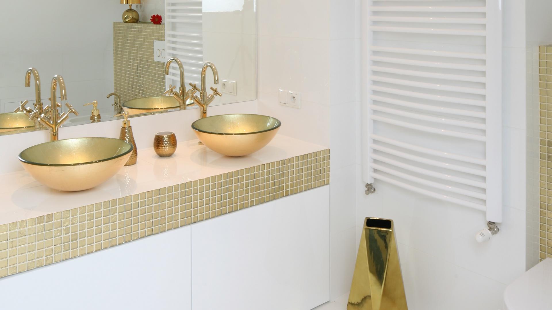 Złota łazienka Tak Urządzisz Ją Z Projektantem