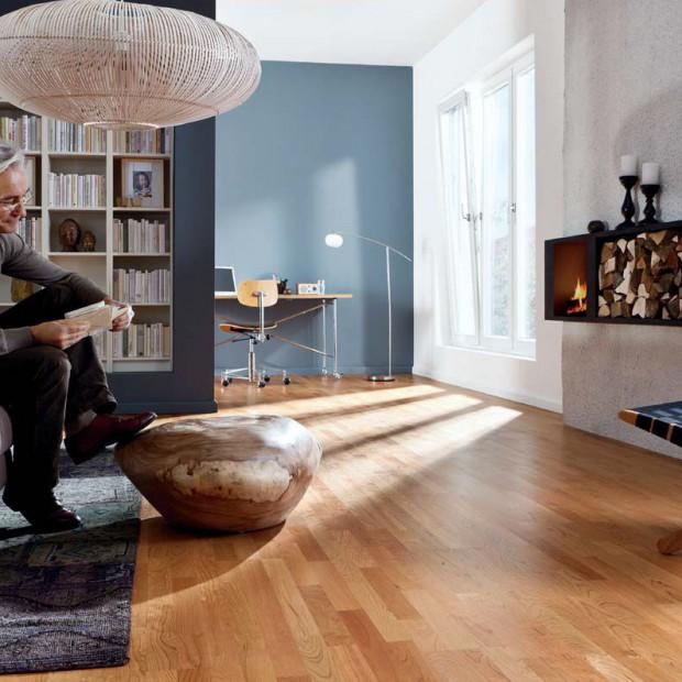 Podłoga z drewna: piękna i trwała przez długie lata