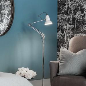 Smukła lampa podłogowa z serii Duo 1227. Fot. Anglepoise.