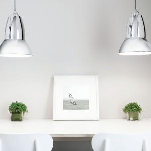 Lampy wiszące z serii Duo Pendant. Fot. Anglepoise.