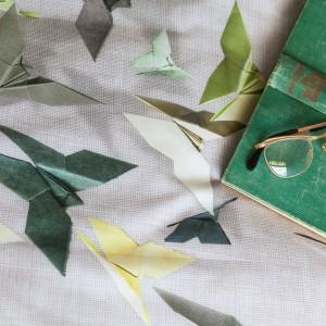 Kolorowe, papierowe motyle. Fot. Snurk.