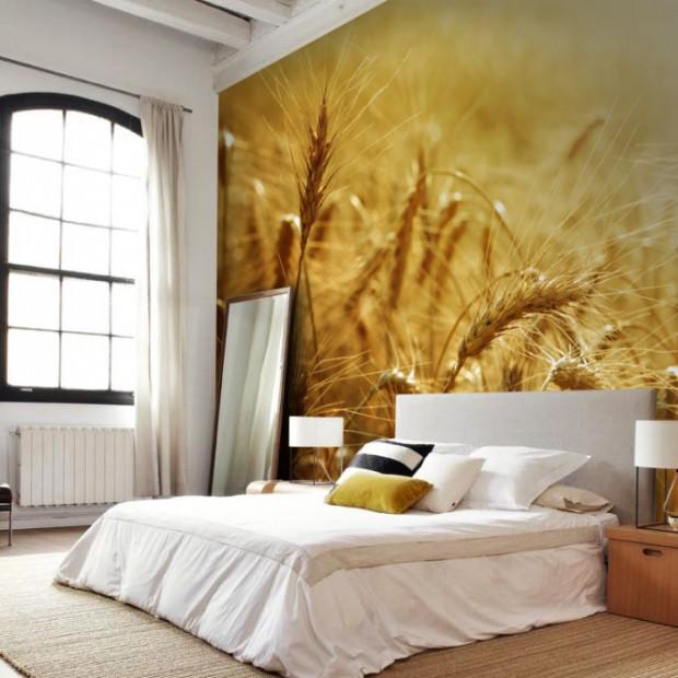 Ściany w sypialni. Wykończ je piękną fototapetą