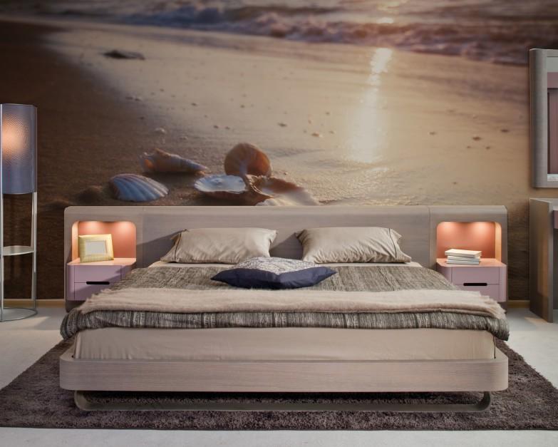 Morze, plaża, piasek to...  Ściany w sypialni. Wykończ je piękną fototapetą  Strona: 11