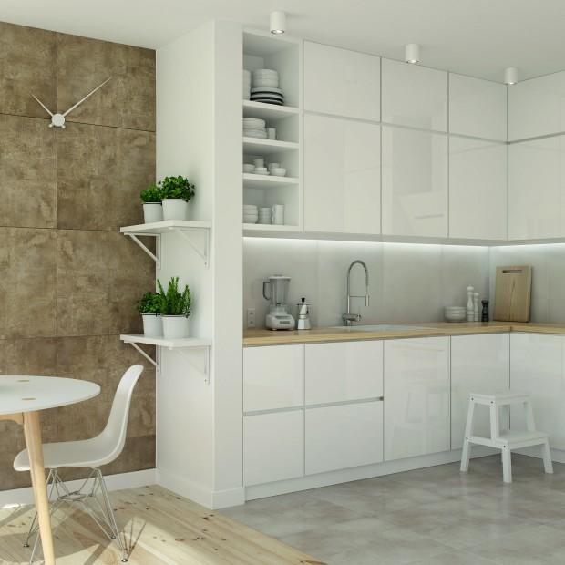 Płytki w kuchni. 15 pomysłów na podłogi i ściany