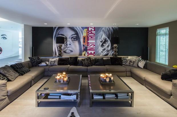Wnętrze z rozmachem: zobacz luksusową rezydencję w Holandii