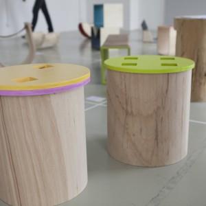 Autor: Natalia Maria Lidut, III rok domestic design School of Form Projekt: Drewno TOTU Opis: kontynuacja projektu  To Tu Las z zastosowaniem innych materiałów