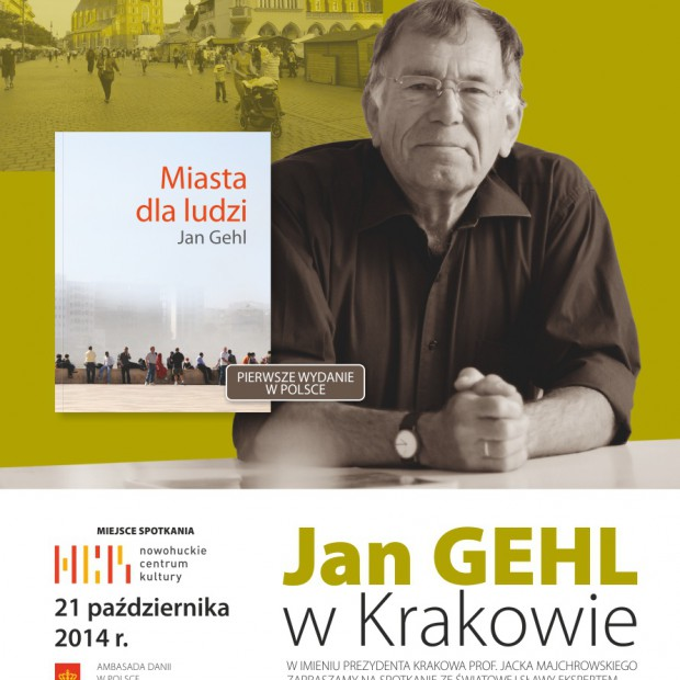 Spotkaj się z duńskim architektem i urbanistą Janem Gehlem