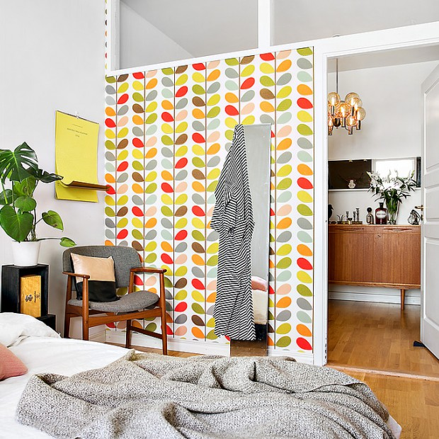 Kolorowe dekoracje do sypialni