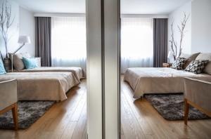 Sypialnia dla gości.