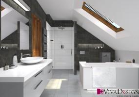 Wizualizacja łazienki.
