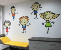 Gabinet lekarski dla dzieci.