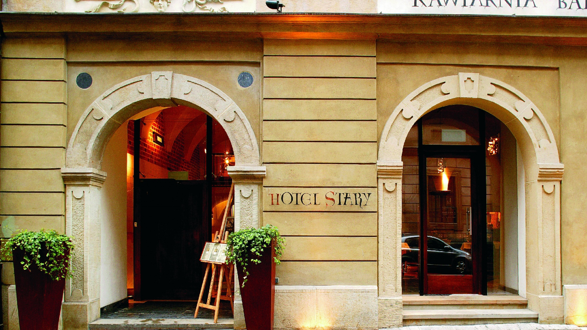 Kamienica przy ulicy Szczepańskiej. Tu mieści się Hotel Stary. Fot. Bartosz Jarosz