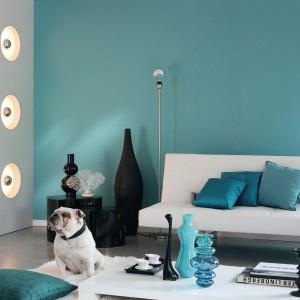 Tapeta z serii Fusion marki Casadeco idealna do minimalistycznych wnętrz. Fot. Casadeco.