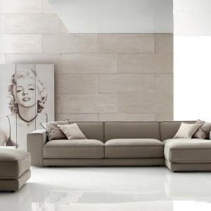 Wygodna sofa Buble marki Ditre Italia tapicerowana tkaniną. Fot. Ditre Italia.