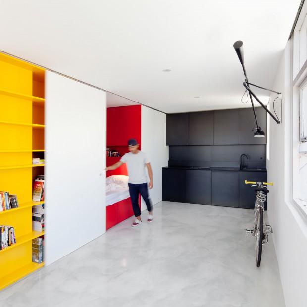 Małe i kompaktowe mieszkanie. Sposób na 27 metrów