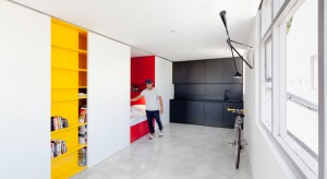 Niewielkie mieszkanko typu studio przeszło niesamowitą metamorfozę. Kreatywniepotraktowana przestrzeń zachwyca pomysłowością!