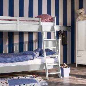 Jedną z największych zalet piętrowego łóżka jest to, że zajmują niewiele miejsca. Tak w więc doskonale sprawdzą się w małych pokojach. Fot. My Room.