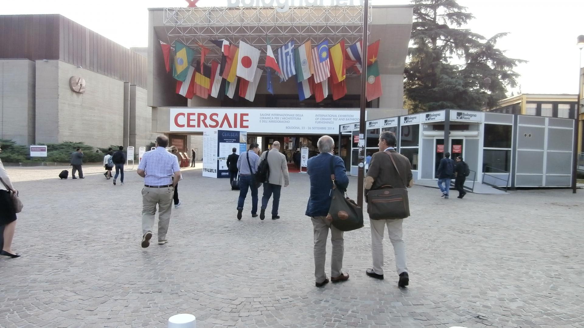Byliśmy na targach bolońskich targach Cersai 2014, które odbyły się 22 września br. Zobaczcie najnowsze i najbardziej trendowe produkty wyposażenia łazienek. Fot. Anna Raducha-Romanowicz