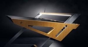 Stół zaprojektowany z myślą o poprawie komfortu pracy przy komputerze czy laptopie.
