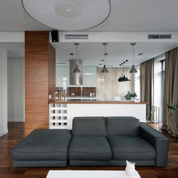 Ciepłe, rodzinne wnętrze. Eleganckie i bardzo wygodne